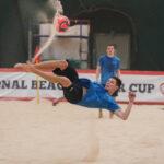 Клуб пляжного футбола ЦСКА провел контрольную тренировку в рамках подготовки к InterCup 2021.